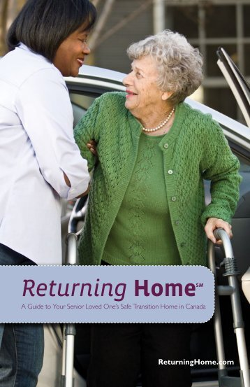 Canadian Edition of the Returning Home: Transitional Care Guide
