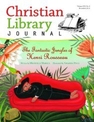middle school book reviews - Christian Library Journal