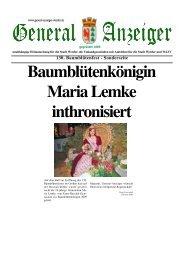 Download der Sonderausgabe  - Baumblütenfest