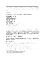 """NMX-V-023-1983. BEBIDAS ALCOHÃ""""LICAS. ROMPOPE  ..."""