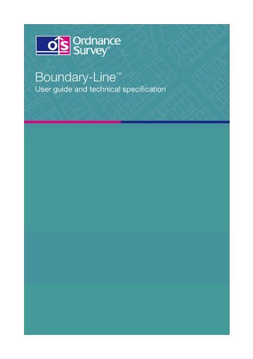 854 Kb PDF: Boundary-Line user guide version 5.1 - Digimap