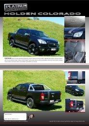2012 Holden Colorado - Retro Vehicle Enhancement
