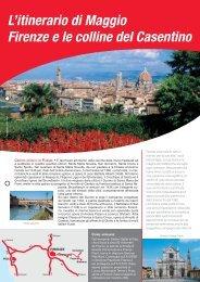 L'itinerario di Maggio Firenze e le colline del ... - Avis autonoleggio