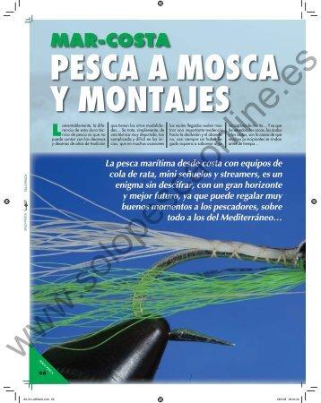 PESCA A MOSCA Y MONTAJES - Solopescaonline.es