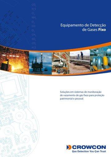 Equipamento de Detecção de Gases Fixo