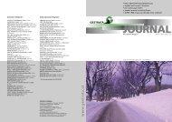 Gestrata Journal Ausgabe 123