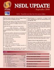 September 2010 - NSDL