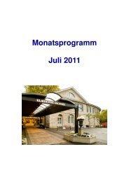 Weitere interessante Freizeitmöglichkeiten - Bad Schinznach AG