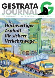 Gestrata Journal Ausgabe 110