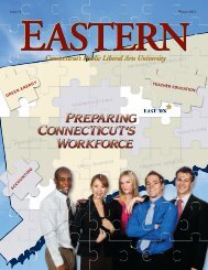 Issue 18 Winter 2012 - Eastern Connecticut State University