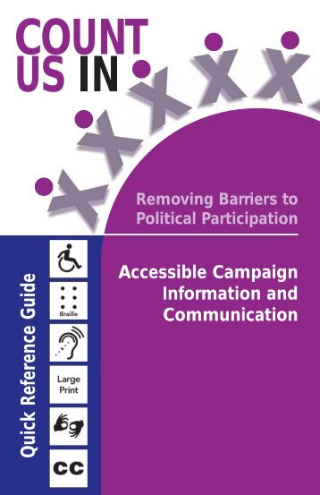 Accessible Campaign Information and Communication - PDF