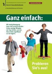 Ganz einfach: - Senioren-Forum Basel