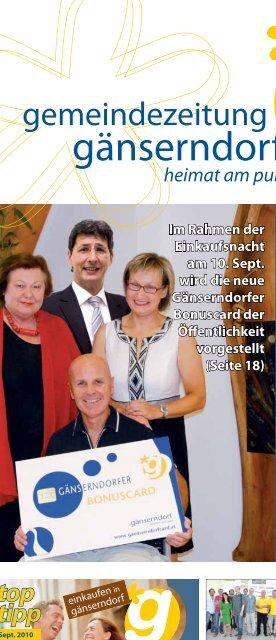 gemeindezeitung - Stadtgemeinde Gnserndorf