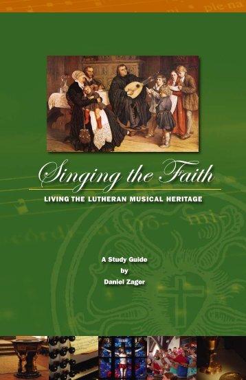 Singing The Faith   Concordia Publishing House