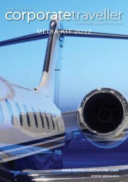 MEDIA KIT 2012 - New Zealand Corporate Traveller Magazine