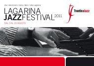 LAGARINA JAZZFESTIVAL2011 - Azienda per il Turismo Rovereto e ...