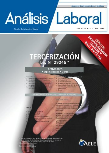 TERCERIZACIÓN - AELE