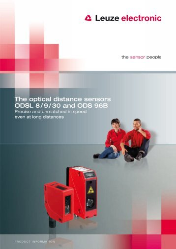 The optical distance sensors ODSL 8 / 9 / 30 and ... - Leuze electronic