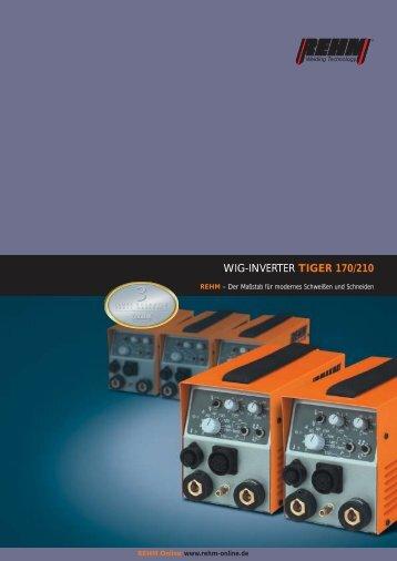 WIG-INVERTER TIGER 170/210