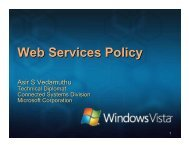 Web Services Policy