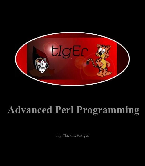 Advanced Perl Programming Pdf