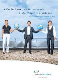 Was ist besser, als für nur einen Global Player zu ... - arvato  services