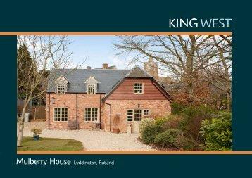 Mulberry House Lyddington, Rutland