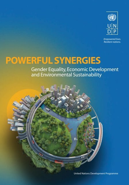 POWERFUL SYNERGIES - United Nations Development Programme