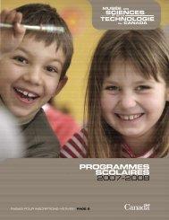Programmes scolaires 2007–2008 - Musée des sciences et de la ...