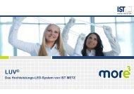 Das Hochleistungs-LED-System von IST METZ
