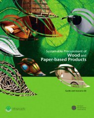 Wood and Paper-based Products - Illegal Logging Portal