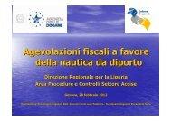 Agevolazioni fiscali a favore della nautica da diporto - Confindustria ...