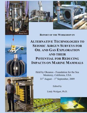 Alternative Technologies to Seismic Airgun - Whitelab Biology Dal
