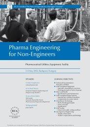 Pharma Engineering for Non-Engineers - European Compliance ...