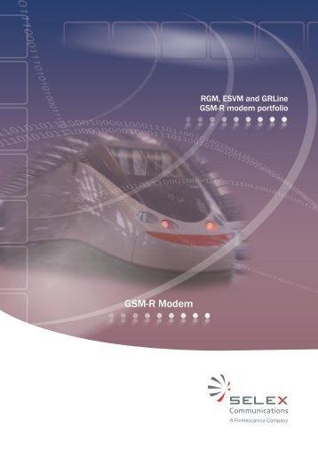 GSM-R Modem