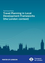 Travel Planning in Local Development Frameworks (the London ...