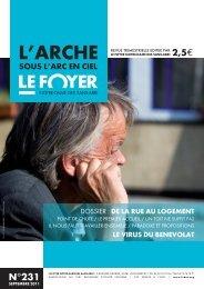 Septembre 2011 n°231 - Foyer Notre-Dame des Sans-Abri