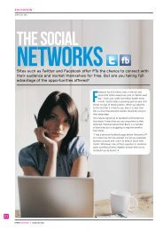 Using social networks - Fitness Professionals