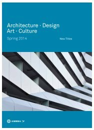 Architecture . Design Art . Culture - Ambra Verlag