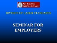 SEMINAR FOR EMPLOYERS - The Business Council of New York ...