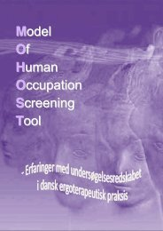 [pdf] Bilag A - Ergoterapeutforeningen