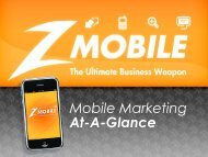 Mobile Marketing At-A-Glance - Finalweb