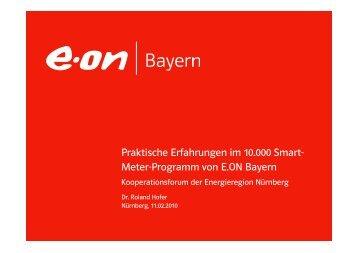 Praktische Erfahrungen im 10.000 Smart- Meter-Programm von E ...