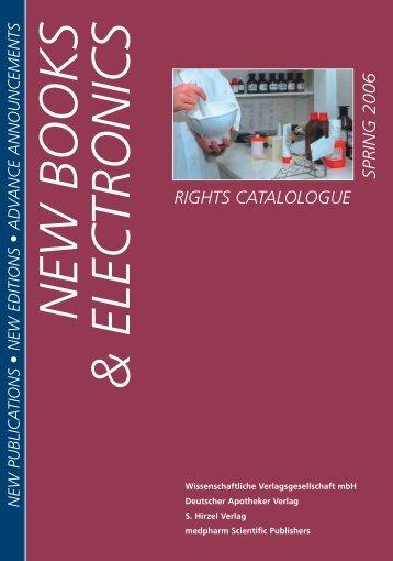 NNV New Books Spring 2006