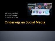Onderwijs en Social Media - MBO