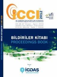 ICCI 2012 Bildiriler Kitabı