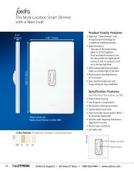 Lutron Traditional Series Dimmers