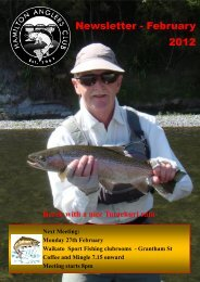 Hamilton Anglers Club February 2012 - Christchurch Fishing and ...
