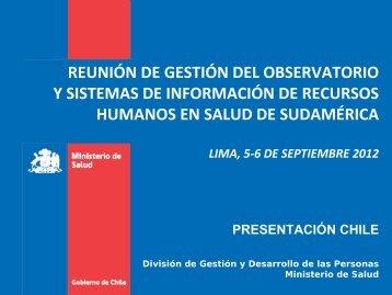 Observatorio de Recursos Humanos en Salud de Chile