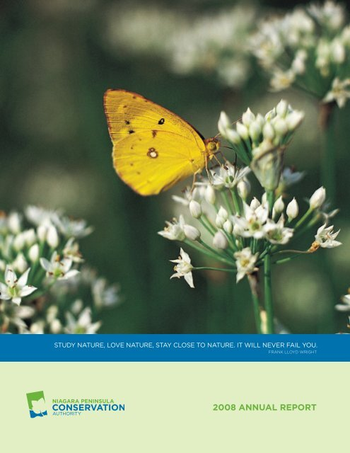 2008 Annual Report - Niagara Peninsula Conservation Authority